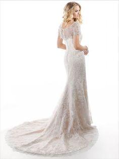 Maggie Sottero, / Chesney - Find Top Designer Wedding Dresses & Bridal Gowns at Jaehee Bridal Designer Wedding Gowns, Wedding Dress Trends, Bridal Wedding Dresses, Bridesmaid Dresses, Wedding Ideas, Sottero And Midgley Wedding Dresses, Mod Wedding, Lace Wedding, Wedding 2015