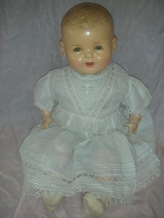 Vintage Dream Baby Composition Mama Doll I have one of these dolls in my collection