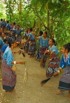 Traditional Dancing, Dokar Village, Flores, Indonesia