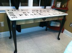 Painted Sofa Table