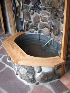 Home made hot tub