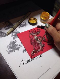 The letter F Cadels Calligraphy