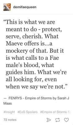 To be honest Fenrys is one of my favorites because he acts like a badass but really his heart is gold. EoS spoilers