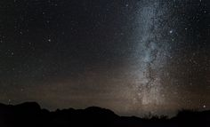 https://flic.kr/p/bQah36 | The Milky Way over the Chisos Mountains | The stars at night are big and bright deep in the heart of Texas...   That's the way an old song starts and it is true.   Big Bend can have excellent star viewing conditions if the dust is not too bad. This view of the Milky Way was taken only 45 minutes after dusk when the Milky Way appeared just to the west of the Chisos Mountains seen in silhouette.  This is my first attempt at wide field star landscape photography and…