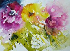 Three flowers / Trois fleurs | por veroniquepiaser-moyen