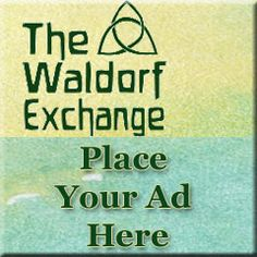 AUCTION WEBSITE - The Waldorf Exchange, for quality  toys and curriculum materials often used as part of a Waldorf / homeschooling life.