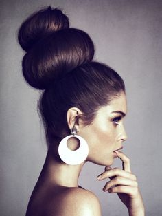 Editorial Hair Bun