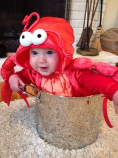 Lobster, 34 Babies In Halloween Costumes The Whole World Needs To See
