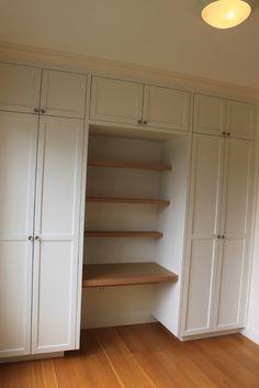 San Francisco Office and closet solution - modern - closet - san francisco - Diadem Finish Carpentry
