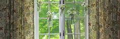 Mason Jar Window Treatment :: Hometalk