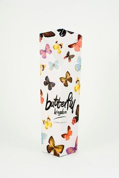 Butterfly Kingdom Taiwan Tea on Packaging of the World - Creative Package Design Gallery