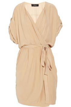 Robert Rodriguez Wrap silk dress