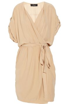 Robert Rodriguez Wrap silk dress                                                                                                                                                      More