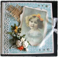 Vintage merci Card  VERKOCHT