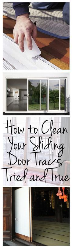 Cleaning sliding door tracks, Cleaning, clean house, cleaning tips, cleaning hacks, popular pin, DIY cleaning, home cleaning, clutter free life, clutter free living hacks. #homecleaningtips
