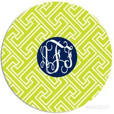 "Monogrammed 8"" Mouse Pad"