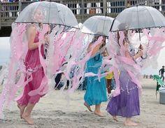 last minute costume idea ~ jellyfish!