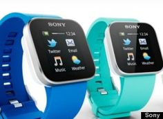 Sony has announced SmartWatch and the Smart Wireless Headset pro. The SmartWatch is a micro display for Android smartphones, to wirelessly and discreetly access Android Wear, Android Watch, Android Phones, Android Apps, Software Android, Android Smartphone, Free Android, Wearable Device, Wearable Technology