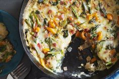 Classic Italian flavors are paired with broccoli raab in this satisfying vegetarian frittata.