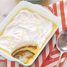 14 easy no-bake Dessert Recipes for hot summer days, including this Ice CreamLemon-Graham Icebox Cake