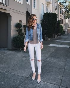 Moda casual femenina ideas jackets ideas for 2019 Cute Spring Outfits, Simple Outfits, Classy Outfits, Pretty Outfits, Casual Outfits, Cute Outfits, Casual Ootd, Casual Heels, Look Fashion