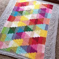 Transcendent Crochet a Solid Granny Square Ideas. Inconceivable Crochet a Solid Granny Square Ideas. Granny Square Crochet Pattern, Crochet Squares, Crochet Blanket Patterns, Crochet Motif, Crochet Shawl, Easy Crochet, Crochet Edgings, Granny Squares, Crochet Borders