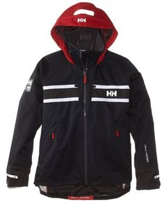 Helly Hansen Women's Salt Rain and Sailing Jacket, Navy, Small