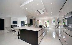 coole küchen designs weiß eingebaute küchenschrank glanzvoll