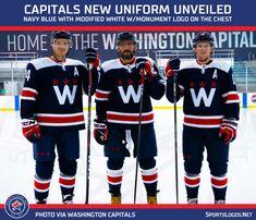 New Blue Washington Capitals Third Jersey Released – SportsLogos.Net News New York Islanders, New York Mets, Alexander Ovechkin, Nhl Washington Capitals, Nhl Highlights, Nhl Season, Star Show, Uniform Design, Tampa Bay Rays