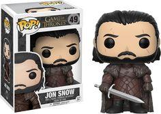 Game of Thrones - Jon Snow Funko Pop! Vinyl Figure | Popcultcha
