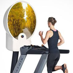 Seriously??  Fancy - Zone Dome Virtual Treadmill Monitor