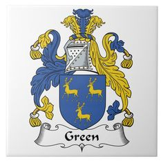 Green Coat, Family Crest, Coat Of Arms, Arm Tattoo, Tile, Gender, Coats, Unisex, Group