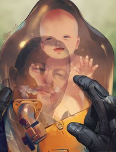 Death Stranding is an action game developed by Kojima Productions. It is the first game from director Hideo Kojima and Kojima Productions after their disbandment from Konami in Dead Stranding, Death Stranding Ps4, Metal Gear, Cry Anime, Anime Art, Resident Evil, Videogames, Kojima Productions, Playstation