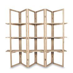 Concertina Style Display Shelf by Citta Design | Citta Design