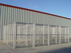 Dog Kennel Includes: 4 - Gate Panels 4 - Panels 5 - Panels 32 - Panel Clamps Made with: 16 Gauge Galvanized Steel Tubing 6 Gauge Galvanized Welded Wire Mesh Opening Features: High Legs Large Door Heavy-Duty Lockable Sliding Bar Gate Latch The 3 yr wa Dog Kennels For Sale, Pet Kennels, 10x10 Dog Kennel, What Dogs Can Eat, Heavy Duty Dog Kennel, Diy Dog Run, Dog Kennel Designs, Kennel Ideas, Dog Boarding Kennels