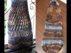 Mesh Tote Bag - Crochet Tutorial