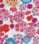 Snuggle Flannel Fabric-Floral Leopard  Receiving blanket