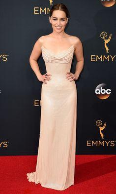 Emmys 2016: Best Dresses of the Night - Emilia Clarke in Atelier Versace