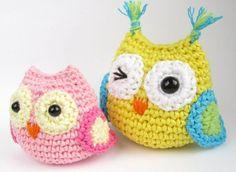 Crochet Baby Owls Pattern Video – Adorable Ideas