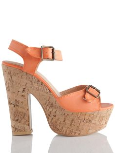 Pamela - Take these wedge #sandals to a music festival for a boho-chic look.