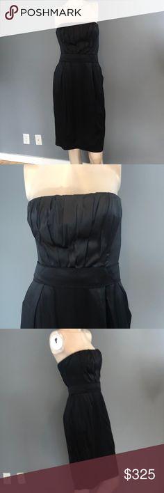 e59f6b7302 NWT Dolce   Gabbana Silk Black Corset Dress  2995 NWT Dolce   Gabbana Silk  Black Corset