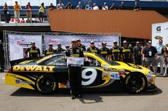 Australian Marcos Ambrose has a new distinction -- he's the fastest thing in a Sprint Cup car in 25 years    With a record-setting run Saturday at Michigan International Speedway, Ambrose won the pole for Sunday's Quicken Loans 400, leading 18 other drivers who broke the 200-mph barrier and 38 others who topped Ryan Newman's previous track record of 194.232 mph, set in 2005