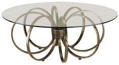 Penthouse Cocktail Table from @Currey & Company #fabfurniture #interiordesign #kreativekristina