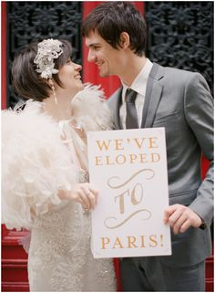 Claire Pettibone dress for elopement to Paris on French Wedding Style and © Alea Lovely Fine Art Photography