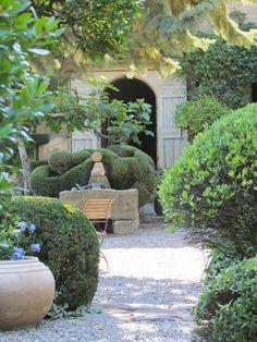 Nicole de Vésian's iconic garden (Jardin de la Louve) Bonnieux, Provence-Alpes-Côte d'Azur
