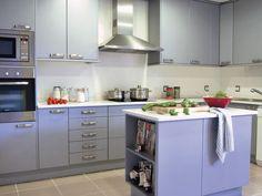 Blue kitchen?