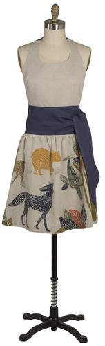 Danica Studio Flora and Fauna 100% Cotton Sasha Apron