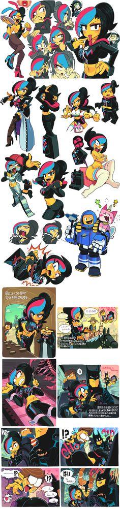 Lego movie doodle madness by Gashi-gashi.deviantart.com on @deviantART