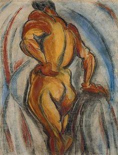 Rhythm (1915) - Anita Malfatti (1889-1964)