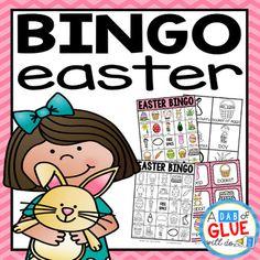 St patricks day diy bingo game do it yourself bingo games easter bingo solutioingenieria Images